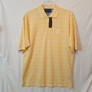 Tommy Hilfiger Golf Yellow Striped Shirt